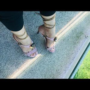 Emanuel Ungaro Shoes - Emanuel Ungero Sandals Lace Up Size 7